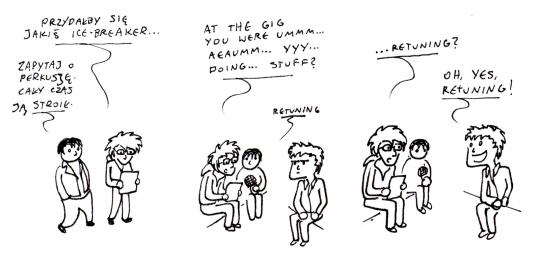komiks autorstwa Maćka Sławskiego
