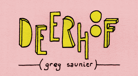 Greg Saunier (lider Deerhoof)